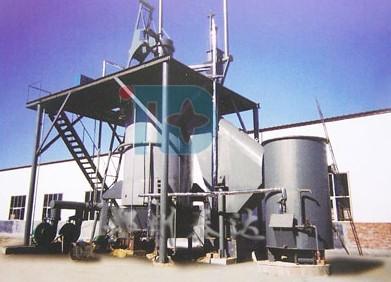 单段式煤气发生炉