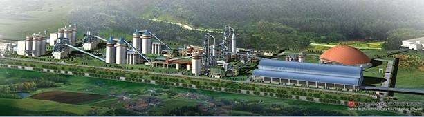 郑州泰达水泥生产线