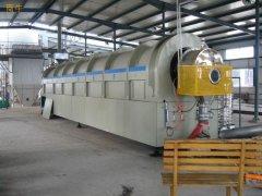 阿塞拜疆榛子壳炭化活化设备即将